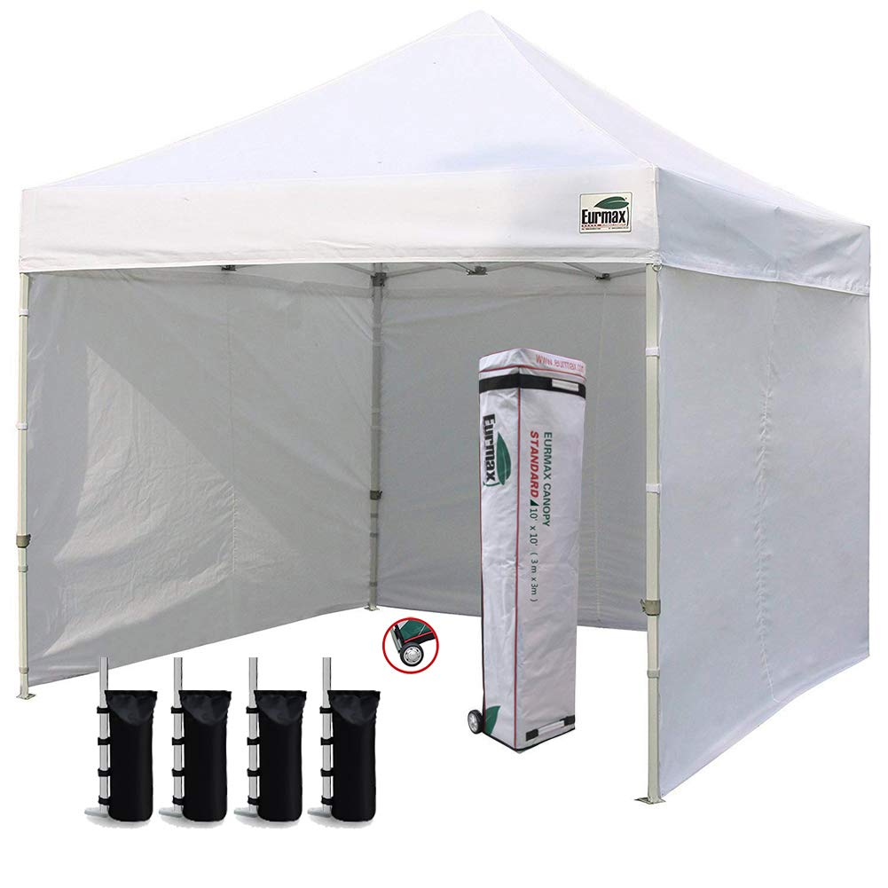Eurmax 10x10 Instant Canopy Commercial Pop Up tailgate Tent