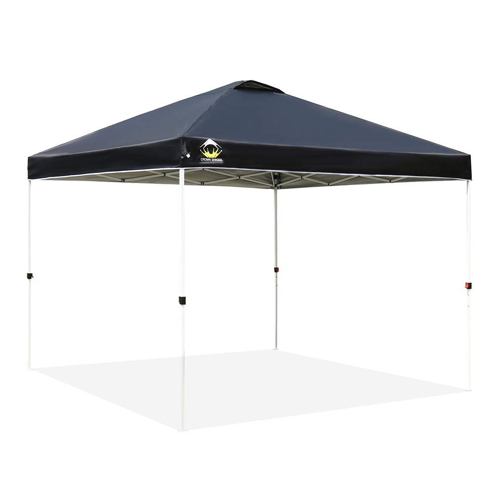 CROWN SHADES Patented 10x10 Canopy Tailgate Tent