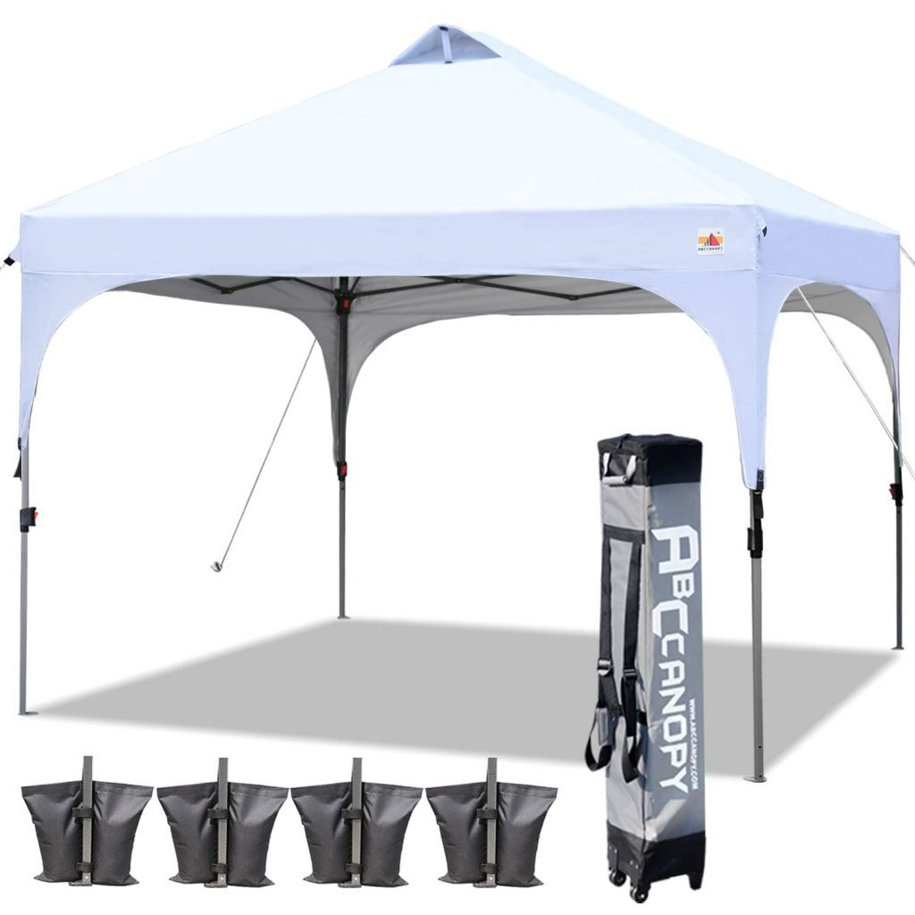 ABCCANOPY Pop Up Canopy Tailgate Tent