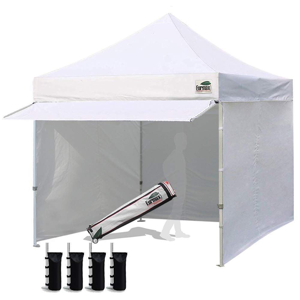Eurmax 10x10 Canopy With Removable Zippered Sidewalls