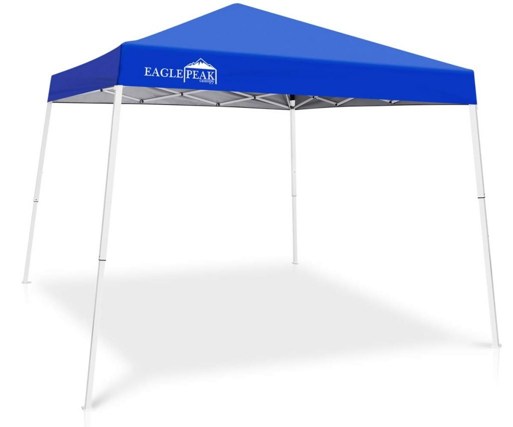 Eagle Peak Slant Leg Pop Up Canopy Tent