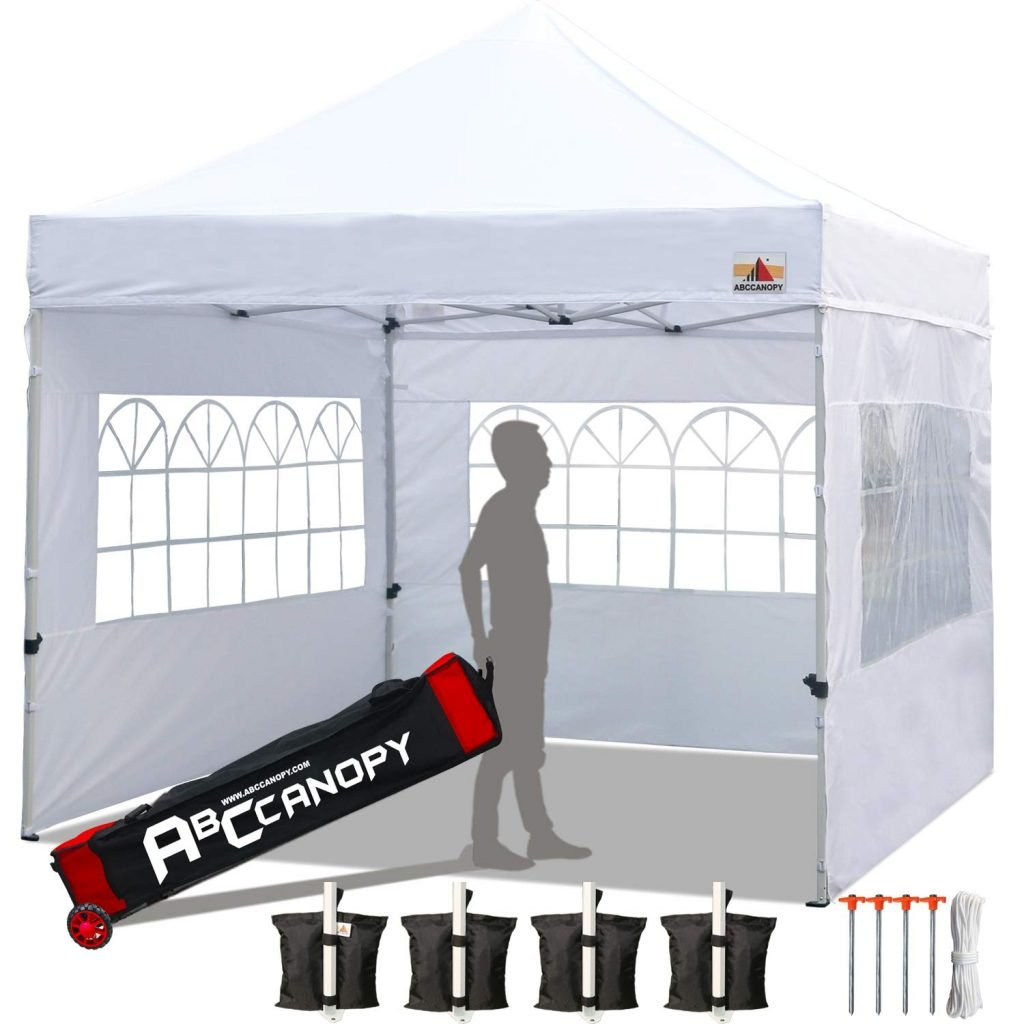ABCCANOPY Tailgate tent with windows