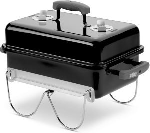 Weber 121020 Go-Anywhere Charcoal tailgate grill