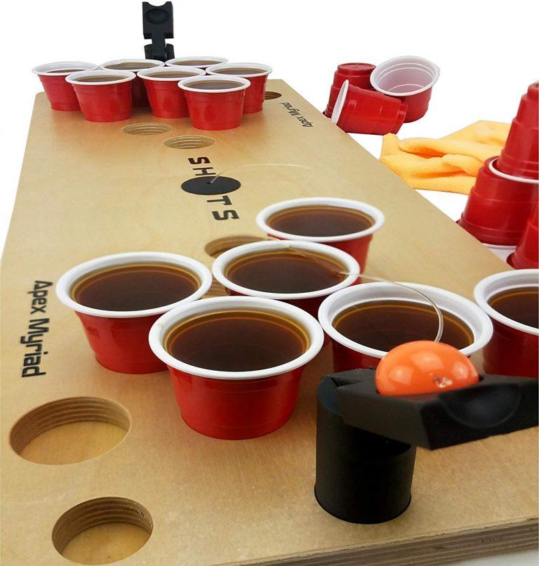 mini shot pong