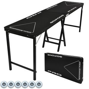gopong sturdy beer pong table